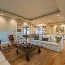 Traditional Living Room by Weston Scott Design