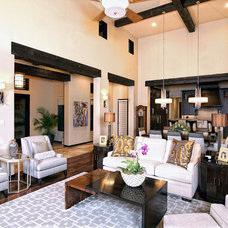Traditional Living Room by Zbranek & Holt Custom Homes