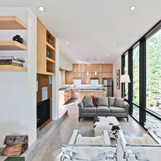Modern Living Room by Kariouk Associates