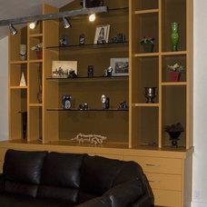 Modern Living Room by Modern Craft Construction, LLC