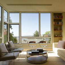 Contemporary Living Room by Design Line Construction, Inc.