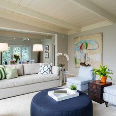 Transitional Living Room by JL Interior Design, LLC