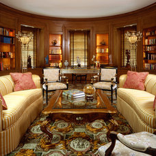 Eclectic Living Room by Culbertson Durst Interiors