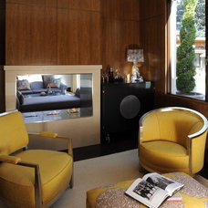 Contemporary Living Room by lisa rubenstein - real rooms design