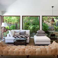 Eclectic Living Room by GEREMIA DESIGN