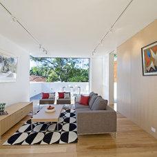 Contemporary  by Rudolfsson Alliker Associates Architects