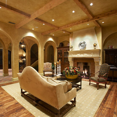 old world tuscan living room design ideas pictures
