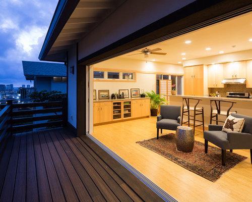 mittelgro e asiatische wohnzimmer ideen design bilder. Black Bedroom Furniture Sets. Home Design Ideas