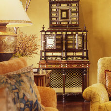 Traditional Living Room by Tucker & Marks