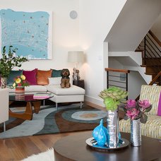Contemporary Living Room by Kimball Starr Interior Design