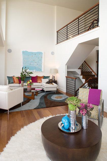 Modern Living Room by Kimball Starr Interior Design