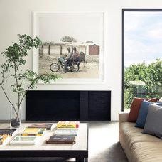 Modern Living Room by Prutting & Company Custom Builders