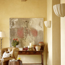 Mediterranean Living Room by Tucker & Marks
