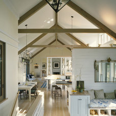 Contemporary Living Room by Interiors Studio Martha's Vineyard