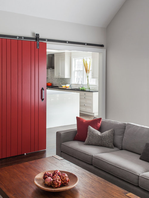 Red Barn Door Home Design Ideas Pictures Remodel And Decor