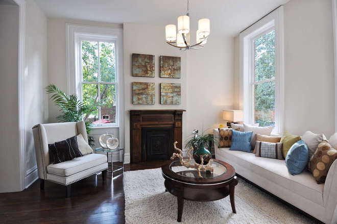 Traditional Living Room by Grand Home Solutions, Inc