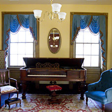 Traditional Living Room by Merry Powell Interiors