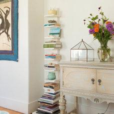 Farmhouse Living Room by Lisa Teague Design Studios
