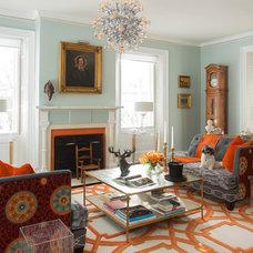 Contemporary Living Room by Favreau Design