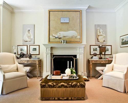 Silver Ottoman Home Design Ideas Renovations Photos