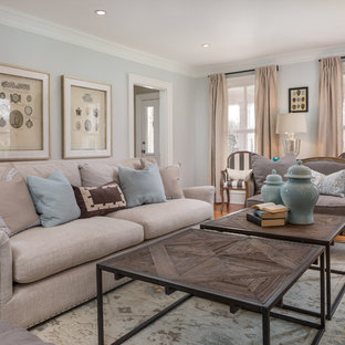 Living room - traditional living room idea in DC Metro