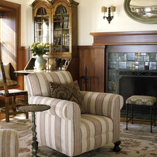 Traditional Living Room by Tommy Chambers Interiors, Inc.