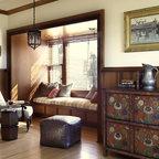 Carlton Red Leather Club Chair Modern Living Room
