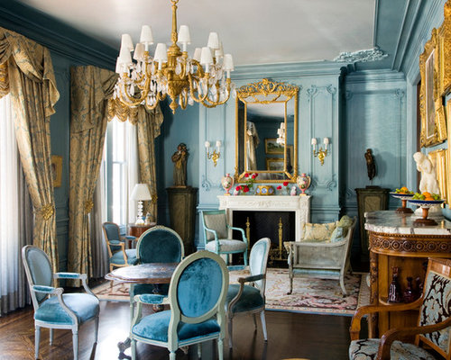 Blue And Gold Houzz