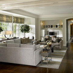 modern living room by Morgante Wilson Architects