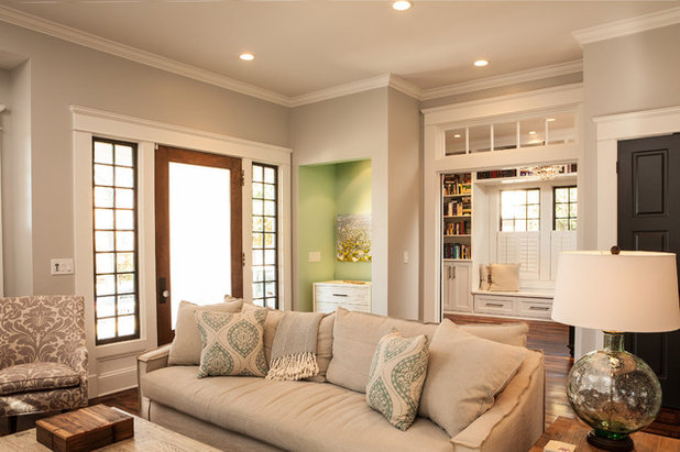 American Traditional Living Room by Alair Homes Decatur