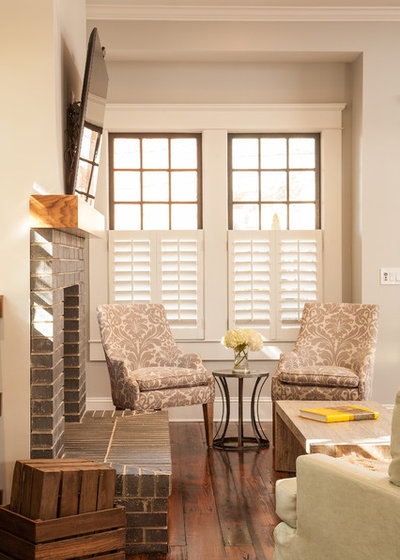 Craftsman Living Room by Alair Homes Decatur