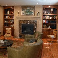 Traditional Living Room by Hixon Interiors, Inc.