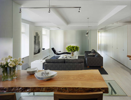 Modern Living Room by Hanrahan Meyers Architects