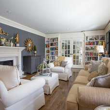 Traditional Living Room by Wayne Bernskoetter Construction