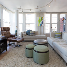 Contemporary Living Room by Beth Interiors