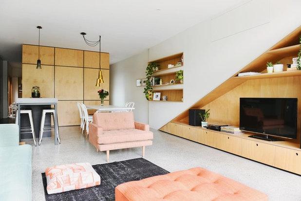 Contemporary Living Room Holden Street