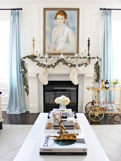 Traditional Living Room by AM Dolce Vita