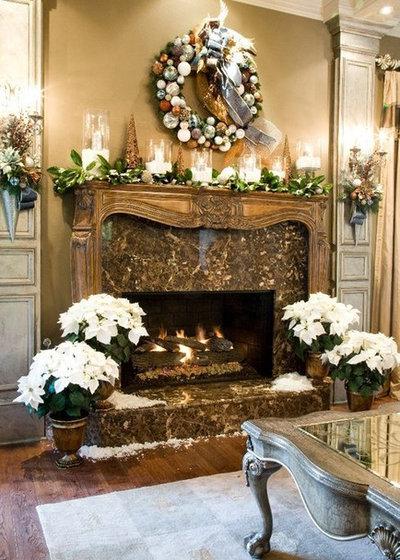 Eclectic Living Room by Maria Barcelona Interiors, LLC