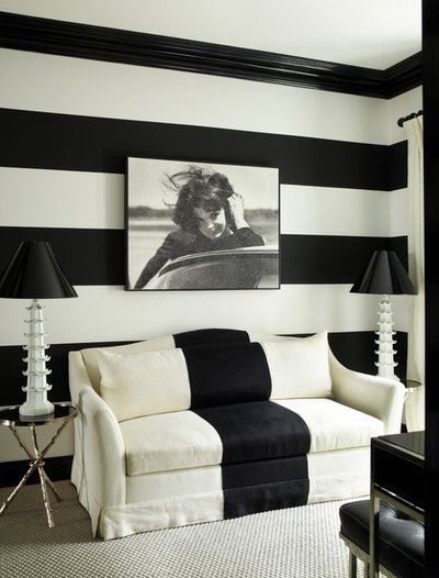 Contemporary Living Room by Paolo Moschino for Nicholas Haslam Ltd