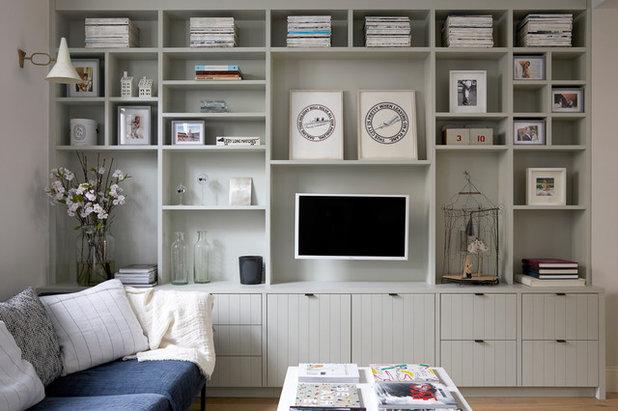 Scandinavian Living Room by Freeman & Whitehouse