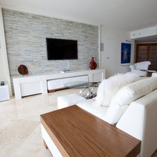 Contemporary Living Room by Complete Home Improvement Group Inc.