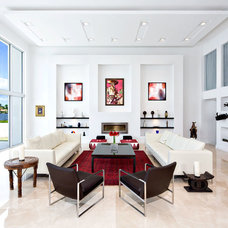 Contemporary Living Room by Built By Owner, Inc.