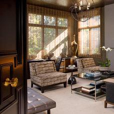 Modern Living Room by Lori Gentile Interior Design