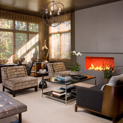 modern living room by Lori Gentile Interior Design
