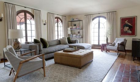 Houzz Tour: A Grown-up, Family-friendly Home in the Hollywood Hills