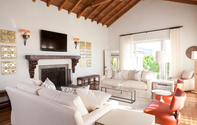 Houzz Tour: Refreshed Spanish Colonial in the Hollywood Hills