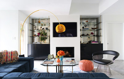Houzz Tour: New Color and Fun for a Midcentury Bachelor Pad
