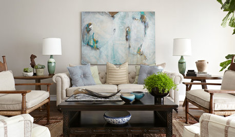 Houzz Tour: A Hollywood Home Channels an Elegant Country Vibe