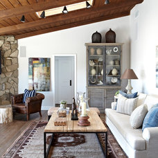 Traditional Living Room by Janette Mallory Interior Design Inc.