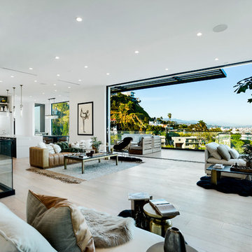 Hollywood Hills Warm Contemporary